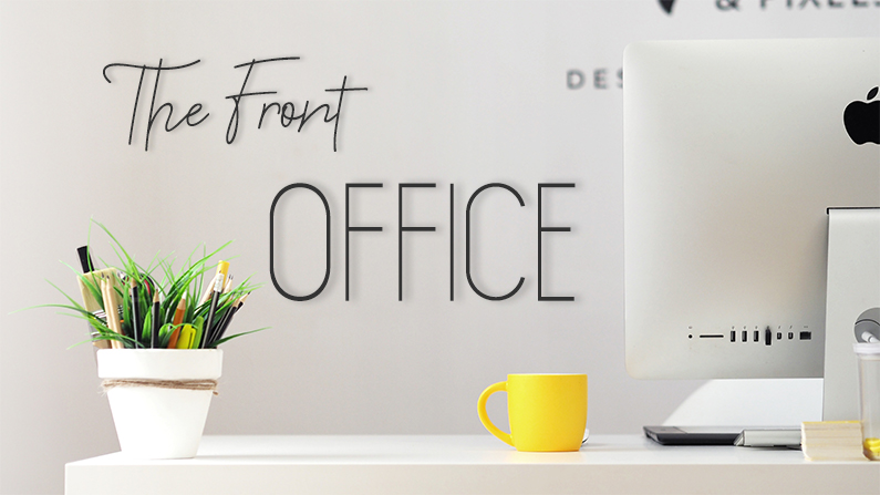 The Front Office - Photo by Georgie Cobbs on Unsplash