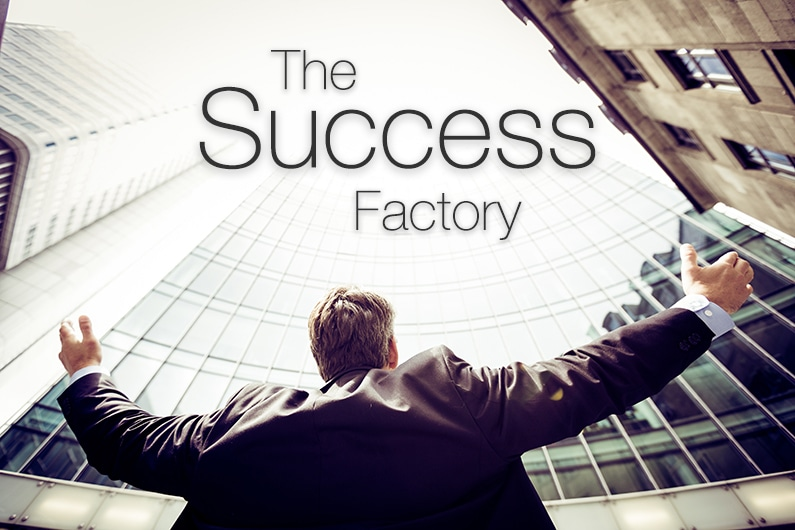 The Success Factory - Photo by Razvan Chisu on Unsplash